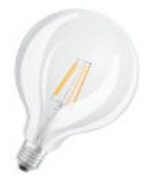 Osram LED Retrofit Classic Globe125