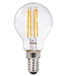 Xavax LED-Filament, E14 5 Watt ersetzt 40W, Tropfenlampe